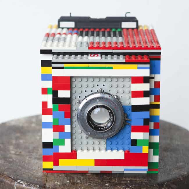 Legotron Mark I 4x5 Camera Cool DIY Lego Idea