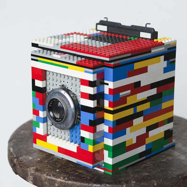 Legotron Mark I 4x5 Camera Cool Stuff you Cant Buy