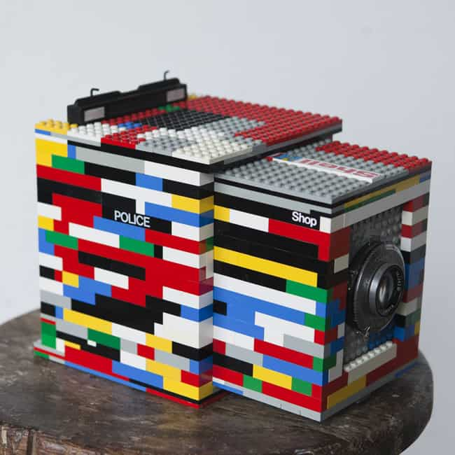 Legotron Mark I 4x5 Camera Things you can Build with Lego