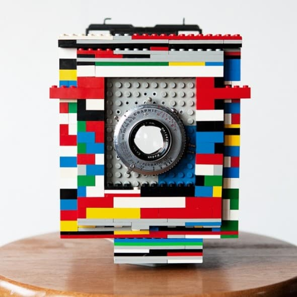 Legotron Mark I 4×5 Cool Lego Camera