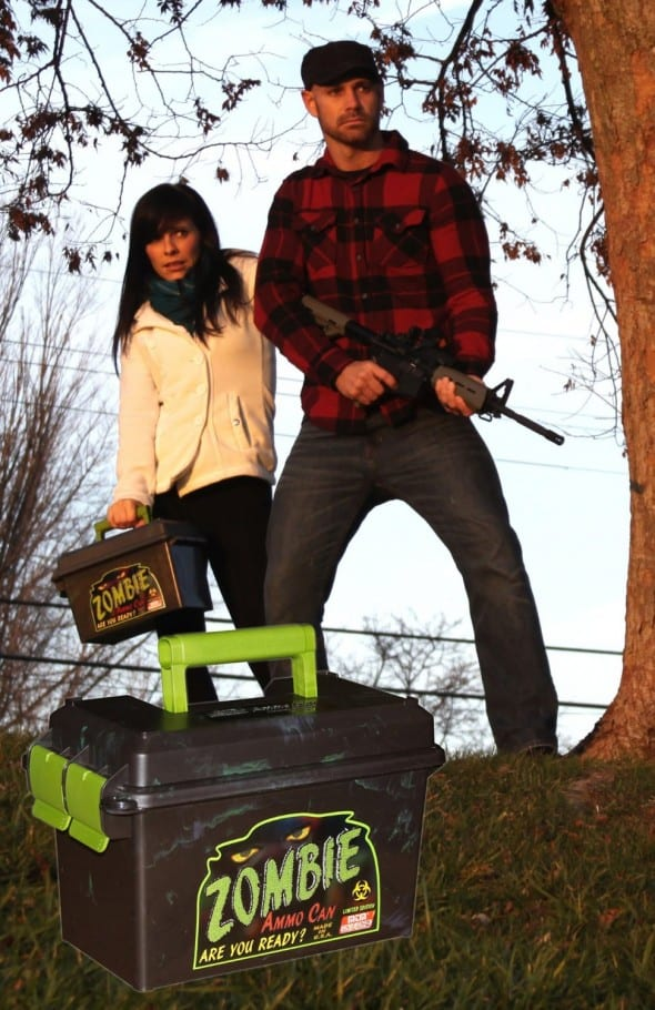 MTM Limited Edition Zombie Ammo Can Gift Idea for Him