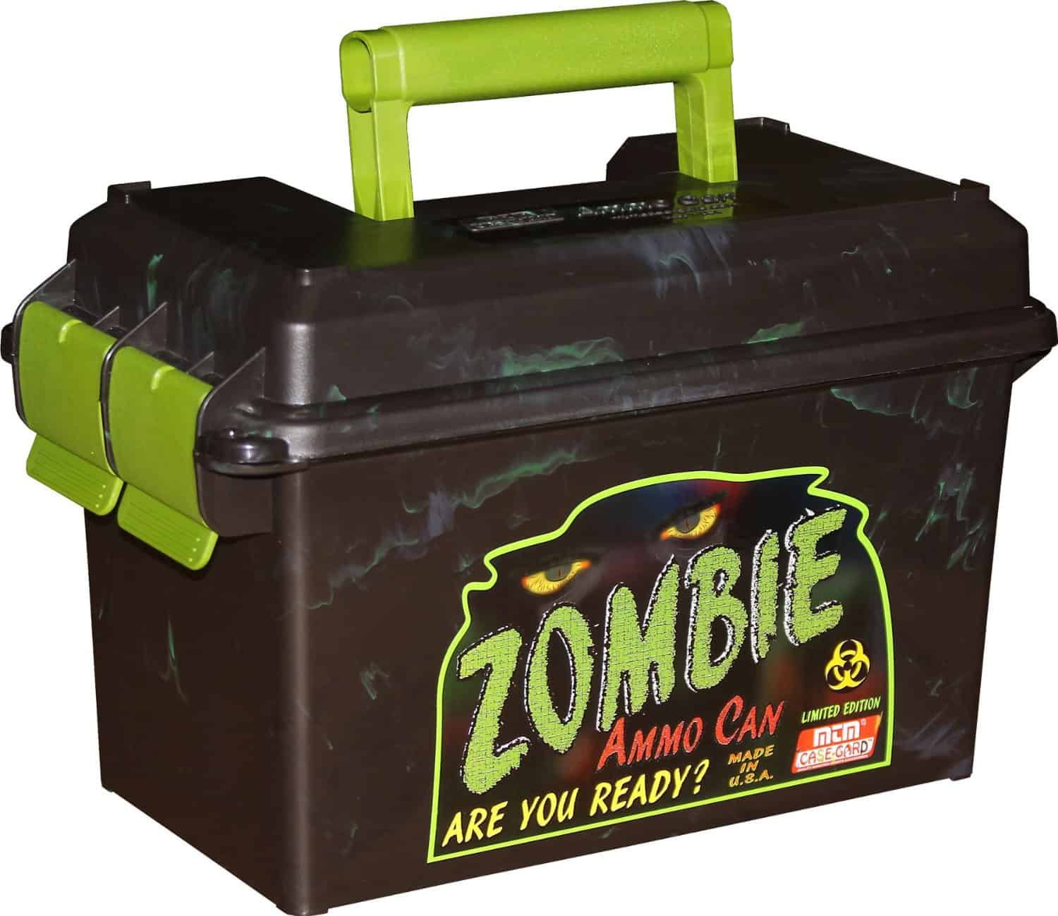 MTM Limited Edition Zombie Ammo Can Hunting Must Have