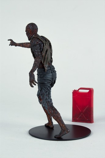 McFarlane Toys The Walking Dead TV Series 5 Charred Walker Collectible Zombie with Gasoline