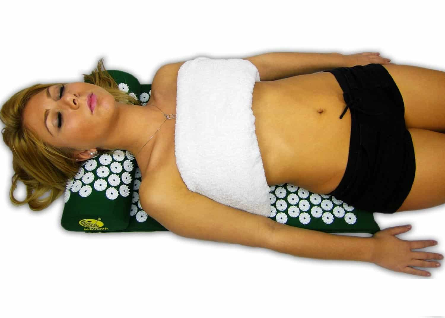 Nayoya Acupressure Mat  How to Get Rid of Back Pain