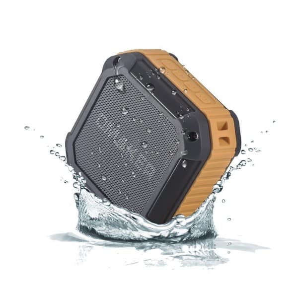 Omaker M3 Portable Bluetooth Shower Speaker Rugged Technology