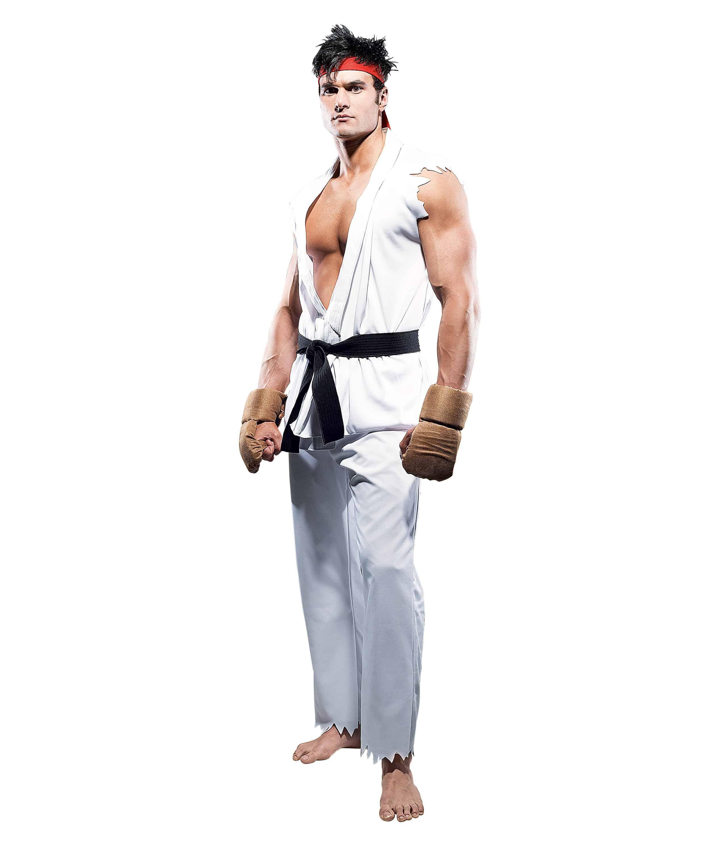 Paper Magic Street Fighter Ryu Costume Halloween Idea