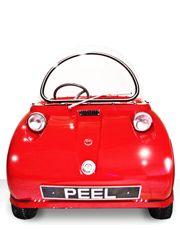 Peel Trident Micro Car Barely Street Legal Retro Vehicle