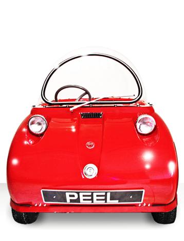 Peel Trident Micro Car Barely Street Legal Retro Vehicle