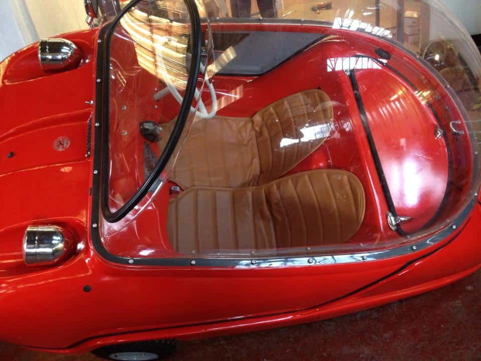 Peel Trident Micro Car Bubble Dome
