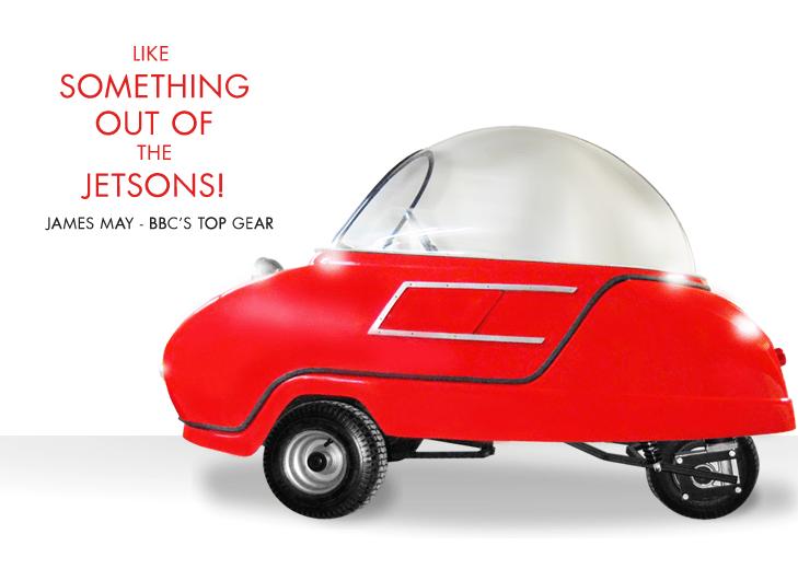Peel Trident Micro Car Meet the Jetsons Theme