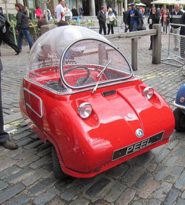 Peel Trident Micro Car One of the Smallest Cars Around