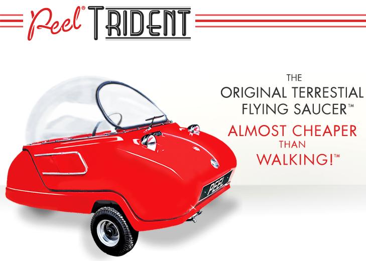 Peel Trident Micro Car The Original Terrestrial Flying Saucer