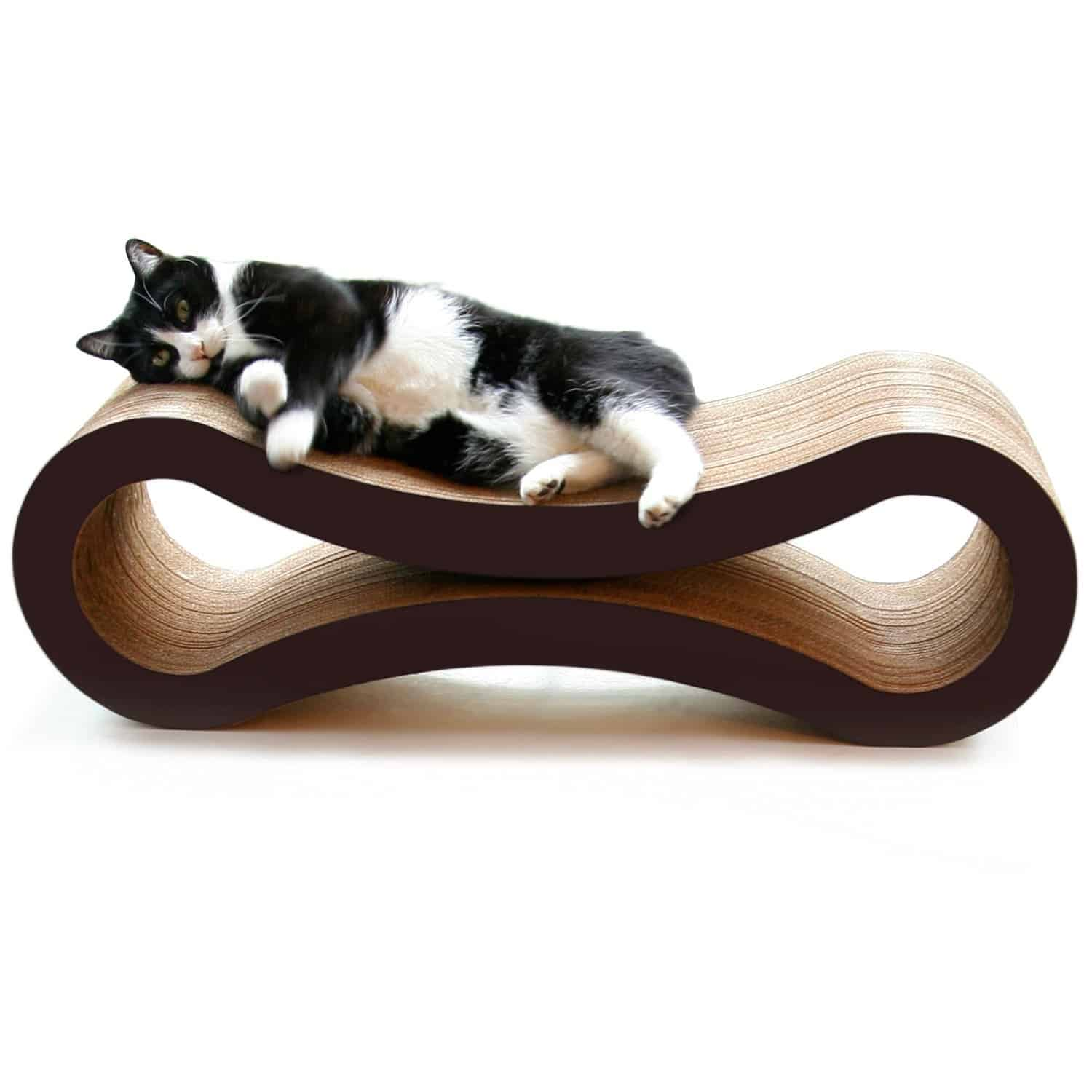 PetFusion Cat Scratcher Lounge Cool Gift Idea for Pet Lover
