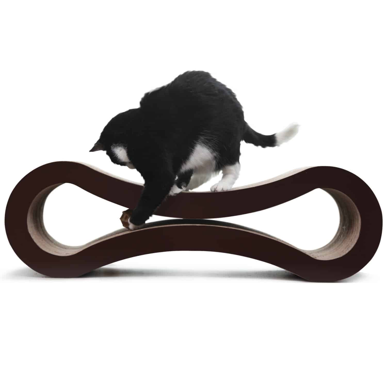 PetFusion Cat Scratcher Lounge Pet Toy Accessory