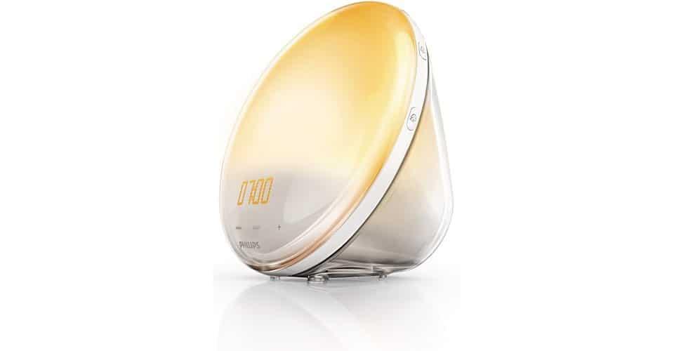 Philips HF3520 Wake-Up Light Colored Sunrise Simulation Cool Gift Idea For Him