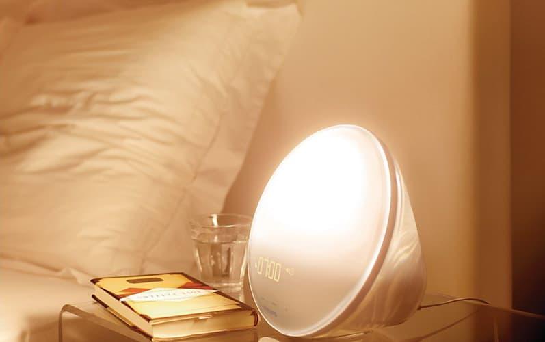 Philips HF3520 Wake-Up Light Colored Sunrise Simulation Cool Gift Idea for Kids