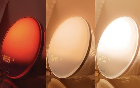 Philips HF3520 Wake-Up Light Colored Sunrise Simulation Cool Stuff to Buy on Amazon