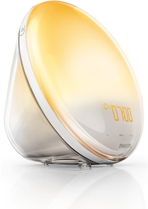 Philips HF3520 Wake-Up Light Colored Sunrise Simulation Ingenious Product