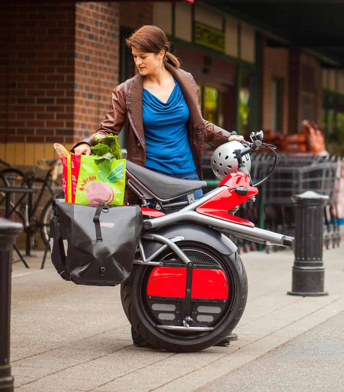 Ryno Motors Micro-cycle Futuristic Bike