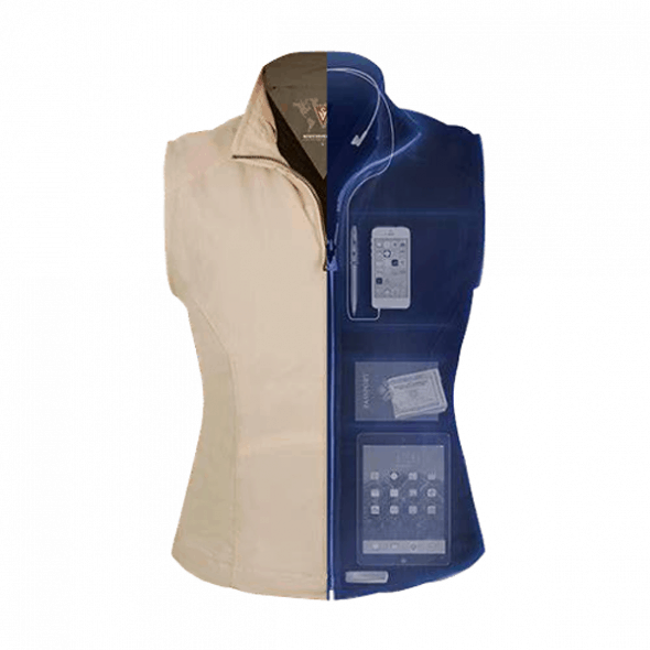 SCOTTeVEST Womens RFID Travel Vest Cool Gift Idea for Her