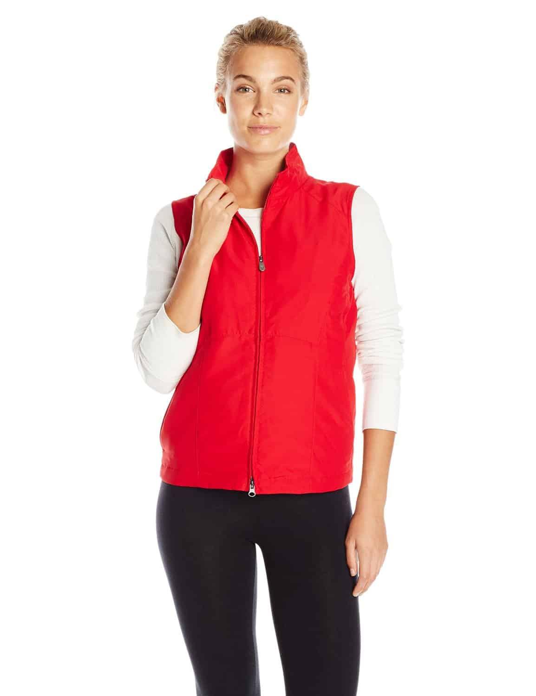 SCOTTeVEST Womens RFID Travel Vest Red