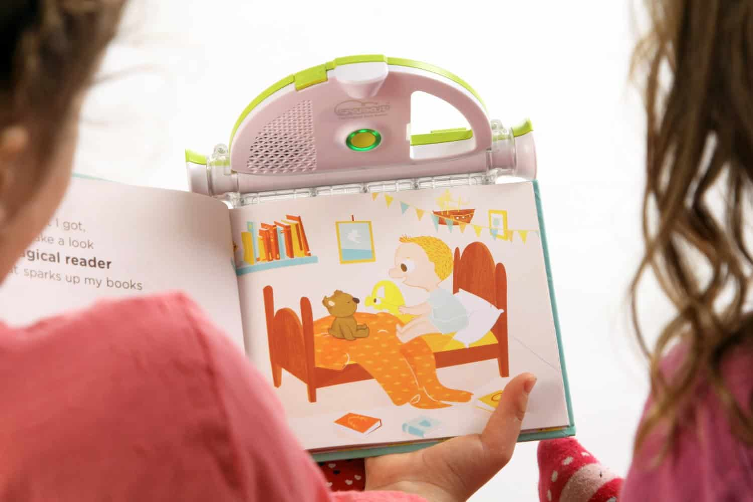 Sparkup The Magical Book Reader Record Parents Voice