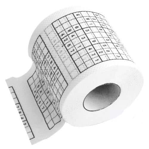 Sudoku Roll Toilet Paper Innovative Product