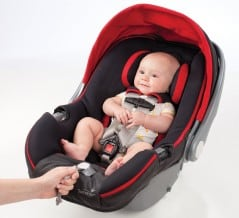 Smart baby car seat.