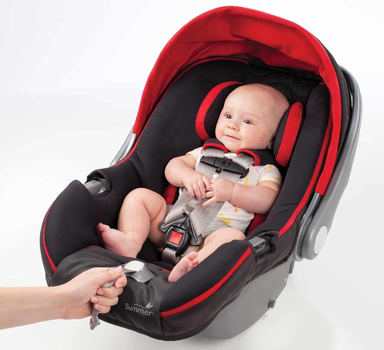 Smart baby car seat.