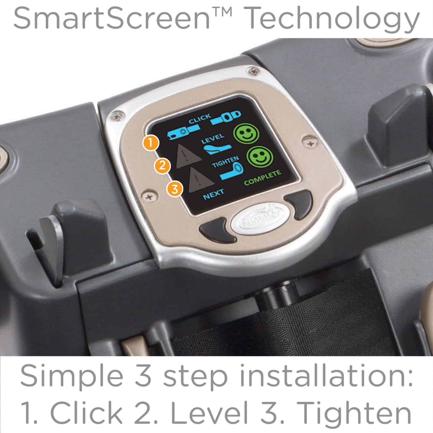 Summer Prodigy Infant Car Seat Smart Screen Technology