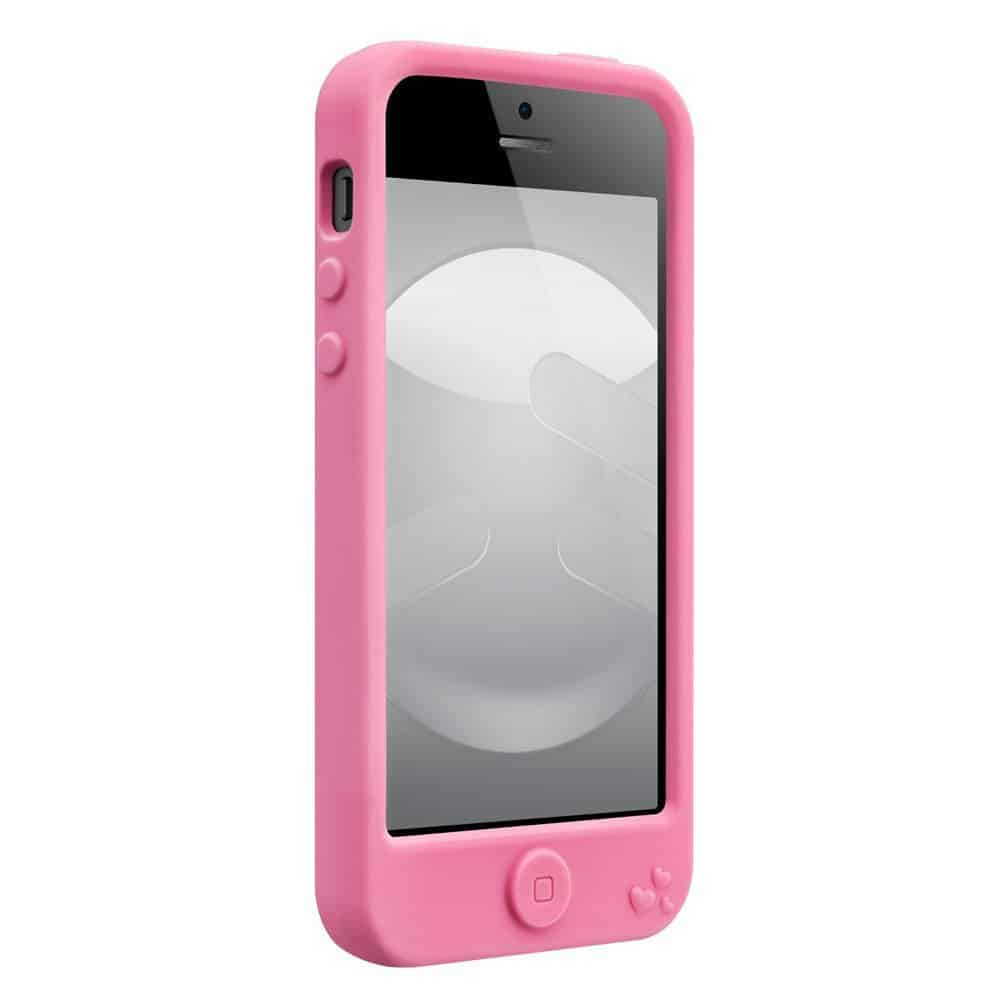SwitchEasy Monsters Silicone Case for iPhone  Freaky Pinky Cover Front