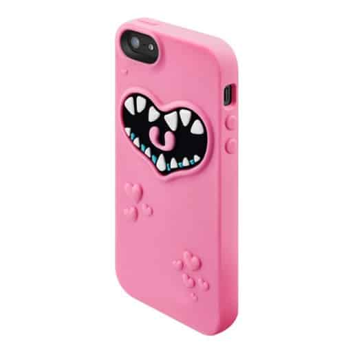 SwitchEasy Monsters Silicone Case for iPhone  Freaky Pinky Cover