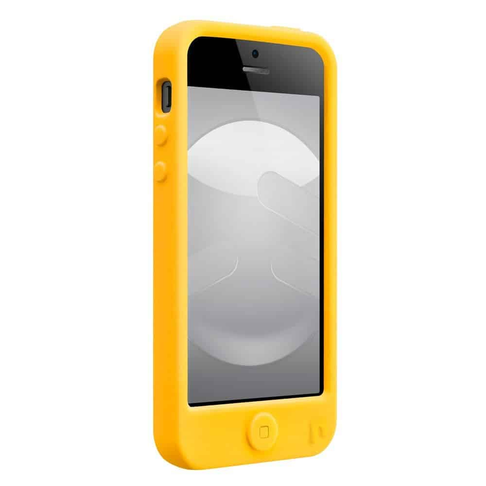 SwitchEasy Monsters Silicone Case for iPhone  Freaky Yellow Cover Front