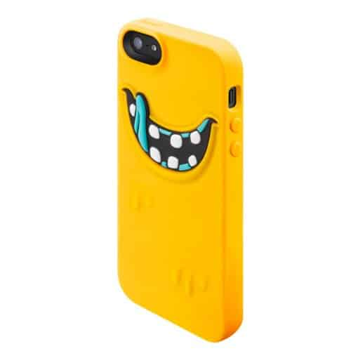 SwitchEasy Monsters Silicone Case for iPhone  Freaky Yellow Cover