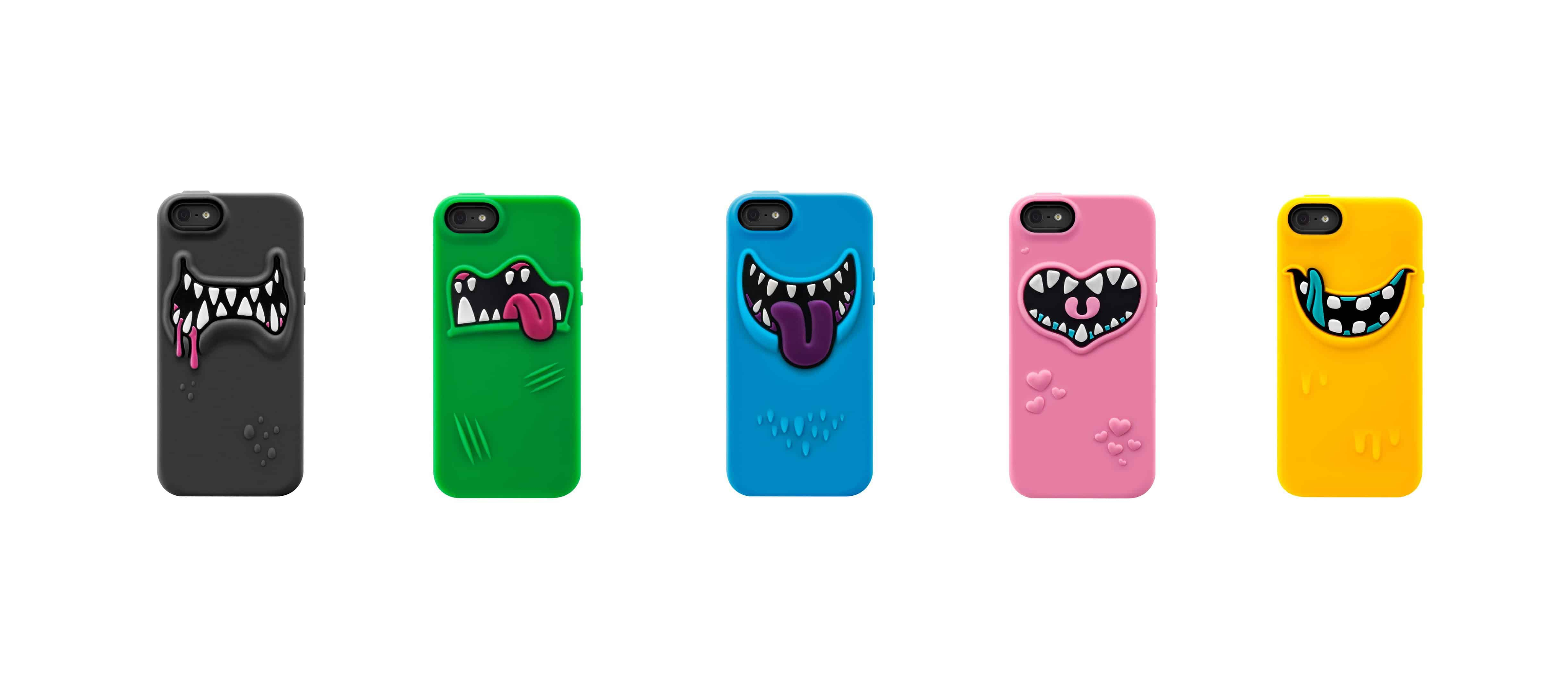 SwitchEasy Monsters Silicone Case for iPhone Gift Idea for Kids