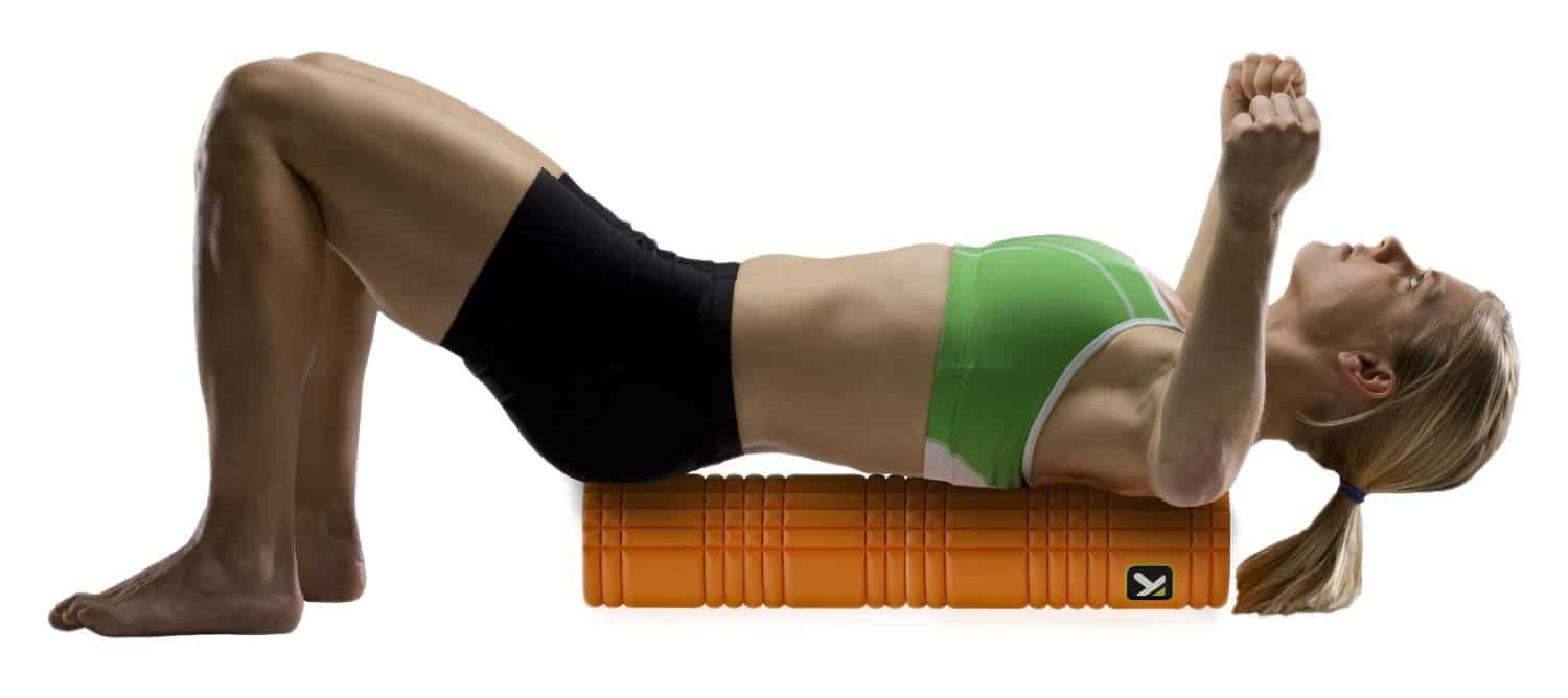 TP Performance The Grid Revolutionary Foam Roller Back Workout