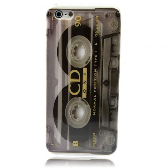 Tape A28 Cassette Hard Skin Case for iPhone Retro Design