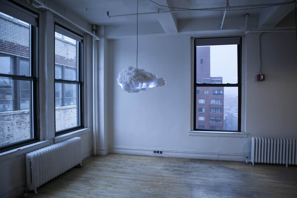 The Cloud Interactive Lamp Expensive Weird but Cool Stuff to Buy Functional Artwork