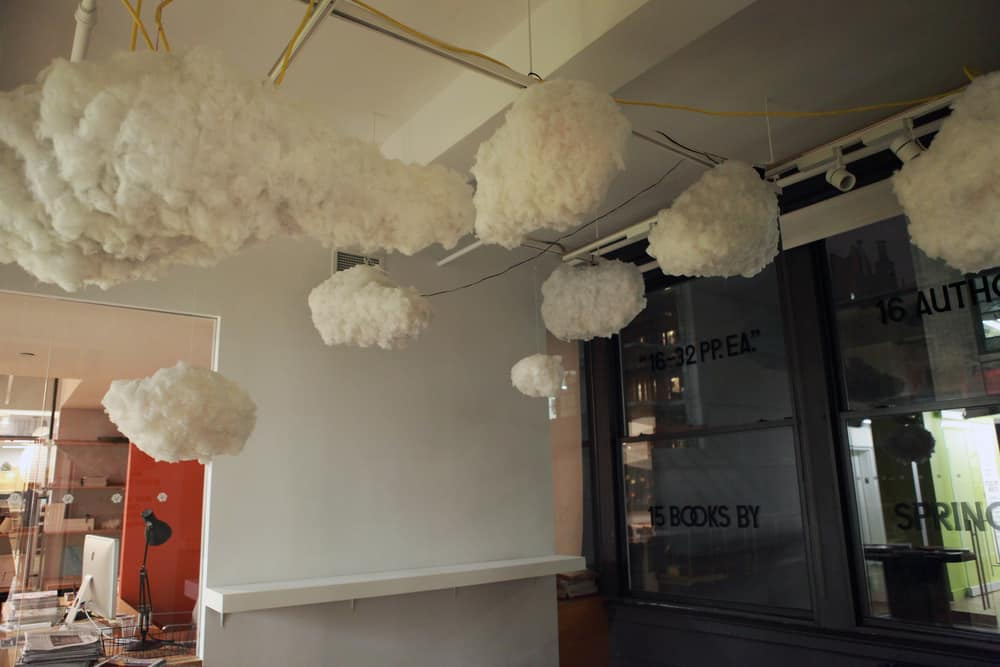 The Cloud Interactive Lamp Funtional Ceiling Decoration