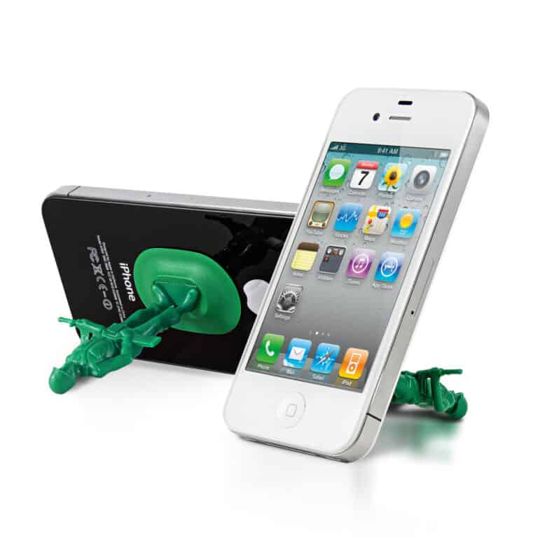Thumbsup iSoldier Phone Stand Cool Accessory Gift for Kids