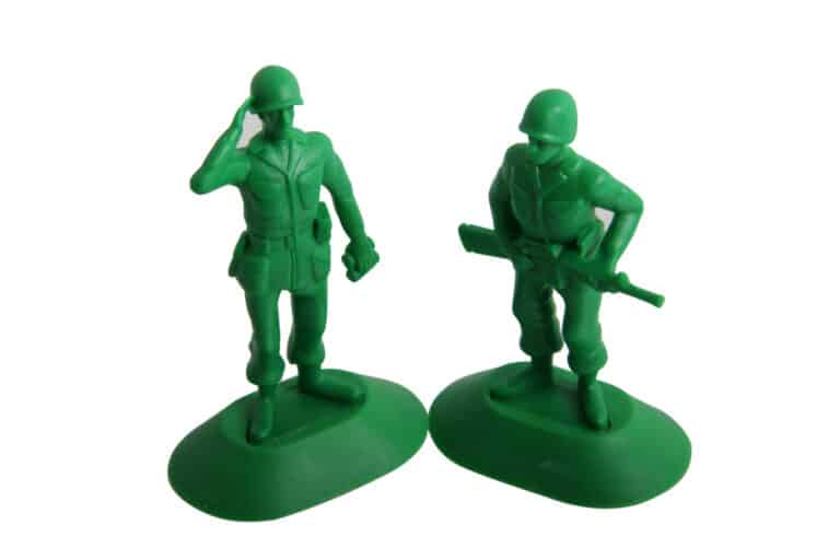 Thumbsup iSoldier Phone Stand Greeny Army Men