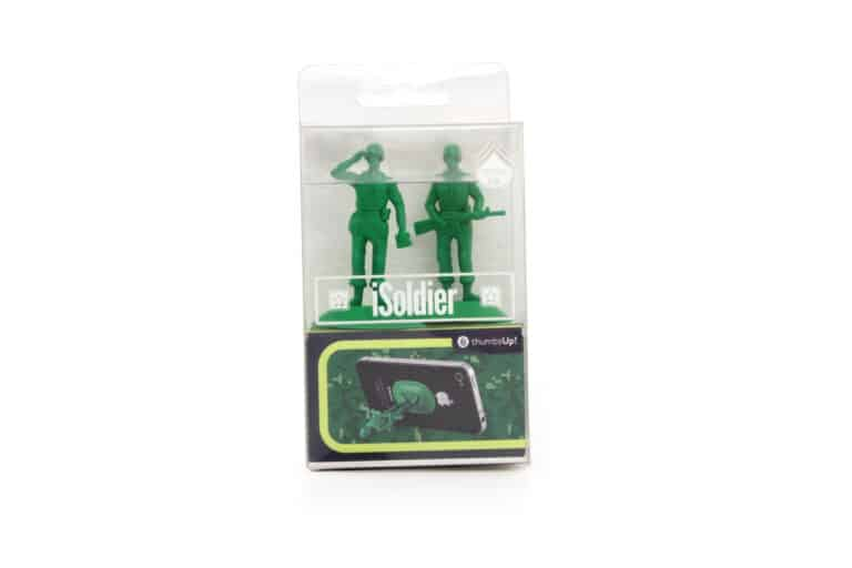 Thumbsup iSoldier Phone Stand Plastic Box Packaging