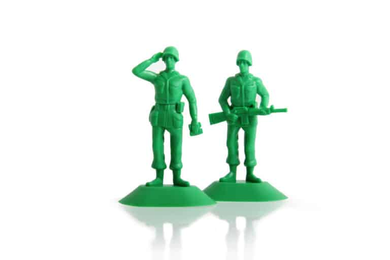 Thumbsup iSoldier Phone Stand Plastic Soldier Themed Product