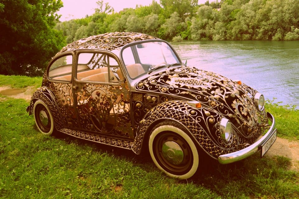 Wrought Iron Beetle by VrBanus Cool Old Custom Car