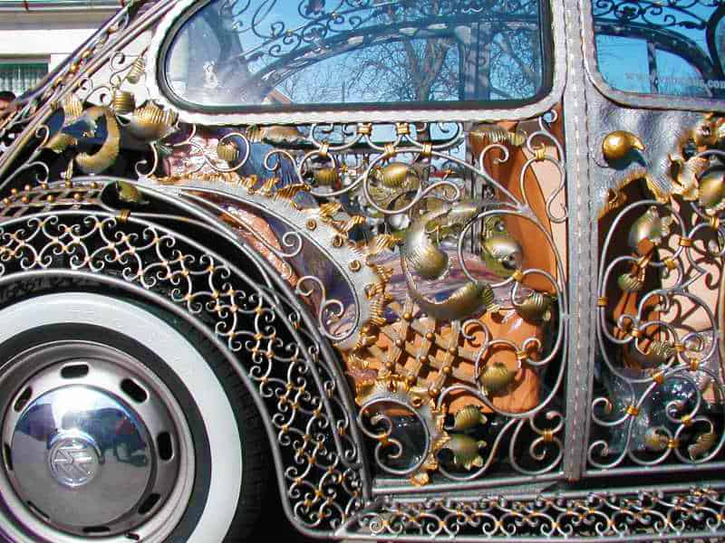 Wrought Iron Beetle by VrBanus Custom Car Side Panel