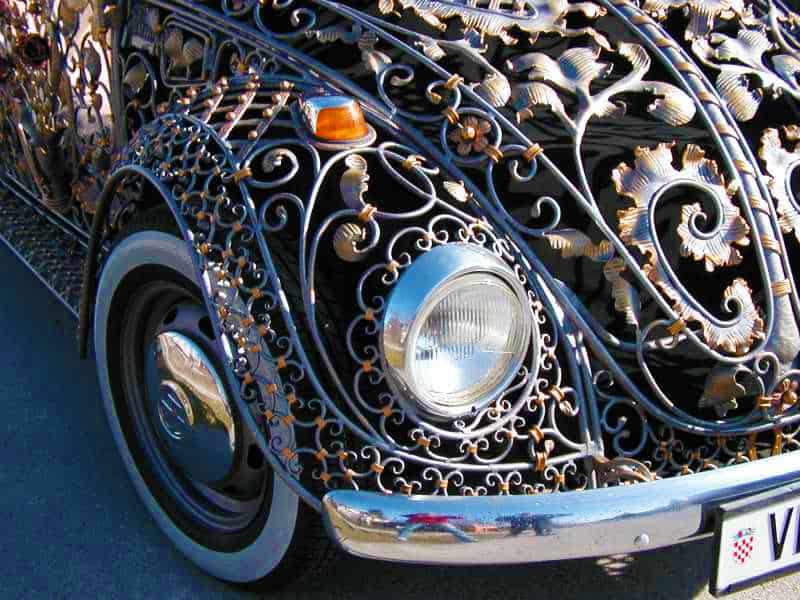 Wrought Iron Beetle by VrBanus Custom Fender