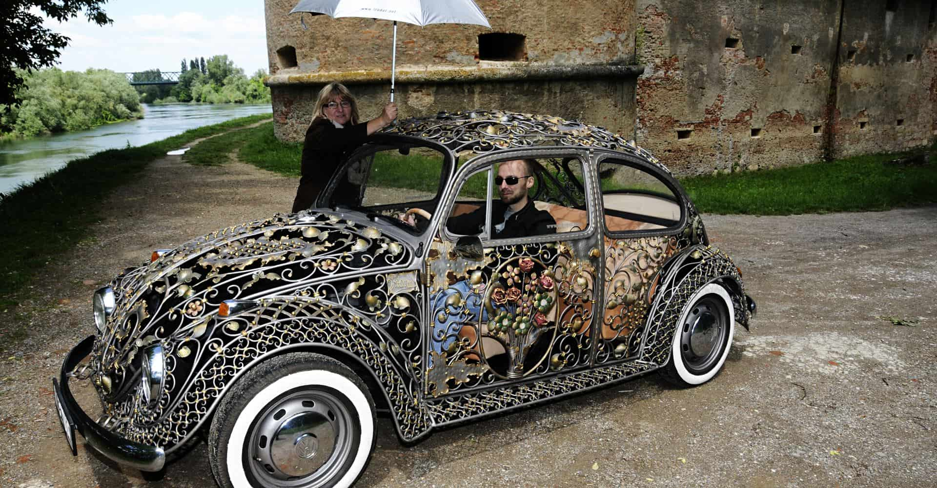 Wrought Iron Beetle by VrBanus Fall In Love With Old Cars