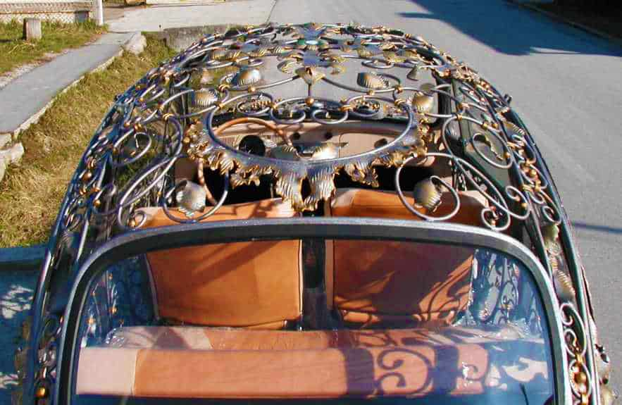 Wrought Iron Beetle by VrBanus Steampunk Design Car Top
