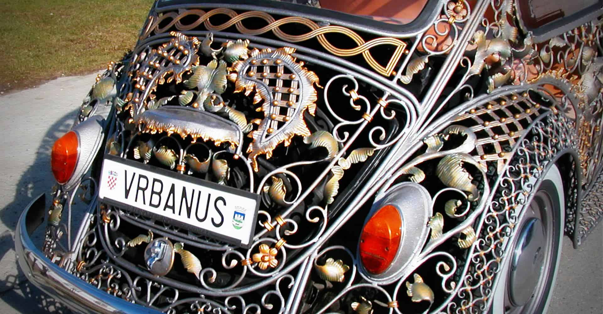 Wrought Iron Beetle by VrBanus Tail Light Detail