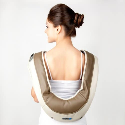 Zyllion ZMA-08 Neck and Shoulder Massager Lower Back